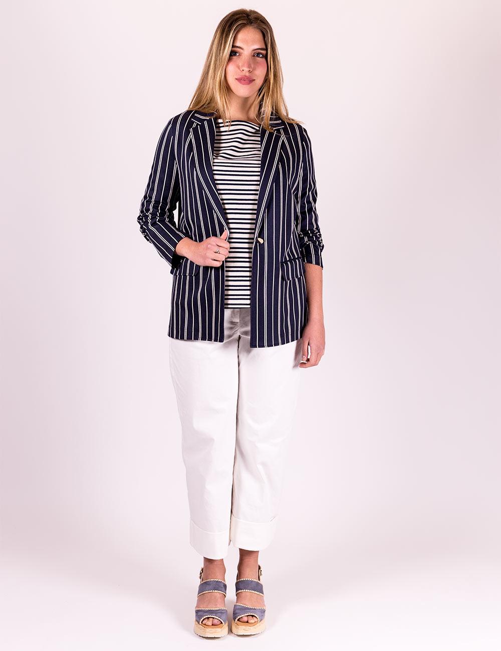 Pennyblack - Blazer in jersey jacquard