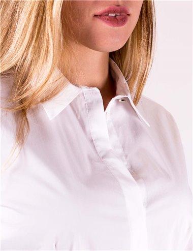 Pennyblack - Camicia slim in popeline