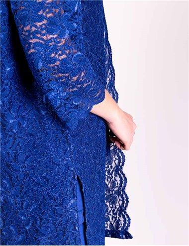Giglio Rosso - Completo pantaloni e top blu cina