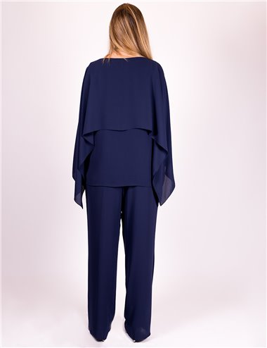Gaia Life - Completo casacca e pantaloni blu