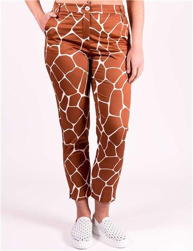 Pennyblack - Pantaloni slim in raso di cotone