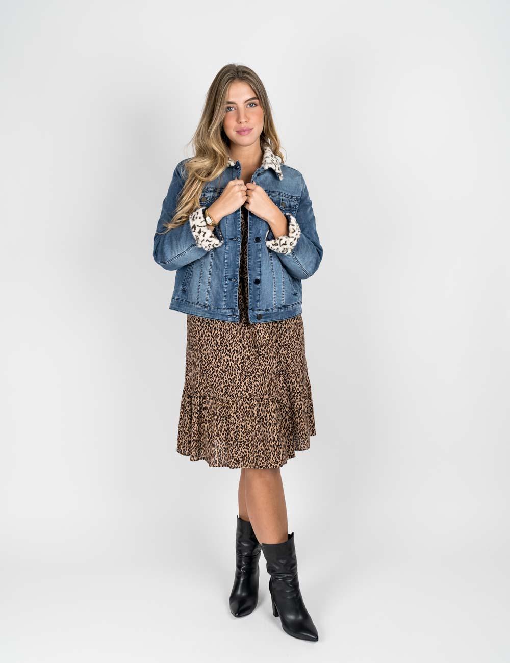Elena Mirò - Giubbetto in jeans denim
