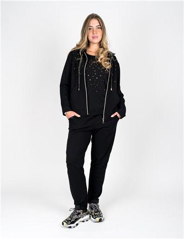 Gaia Life - Completo pantalone nero