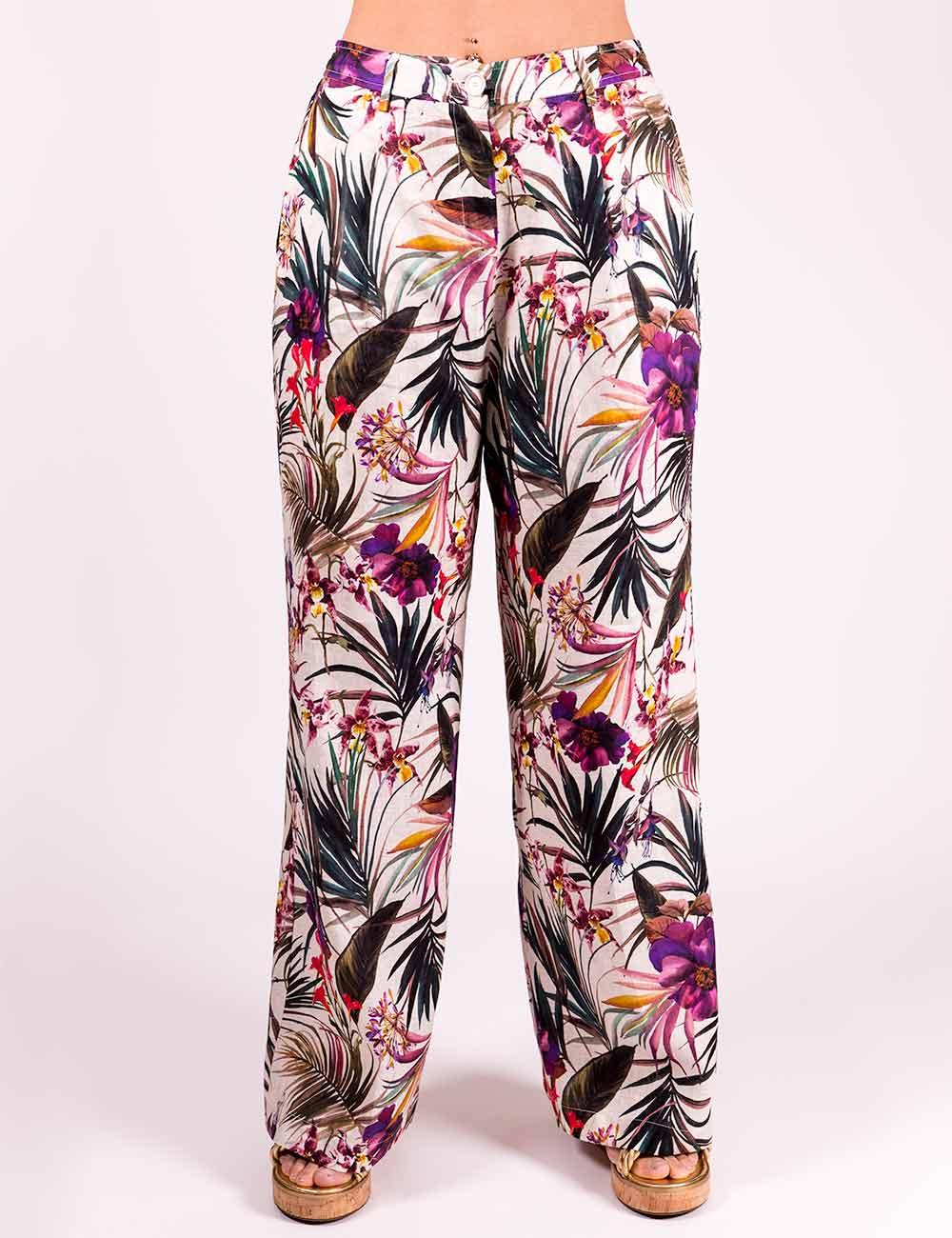 Pennyblack - Pantaloni in puro lino