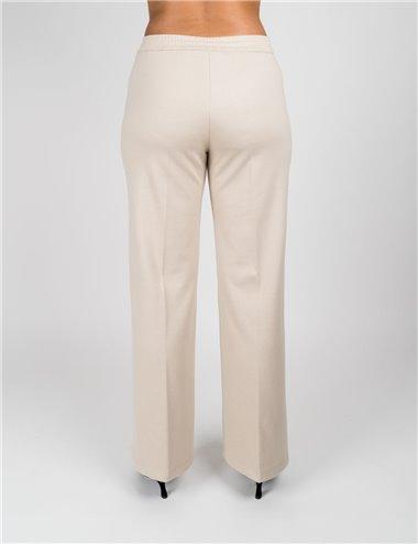 Pennyblack - Pantaloni ampi in jersey sabbia